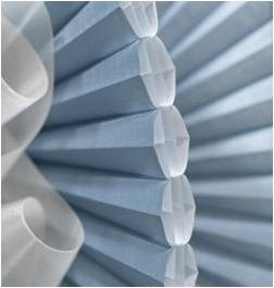 Duette® Architella® honeycomb shades from Hunter Douglas