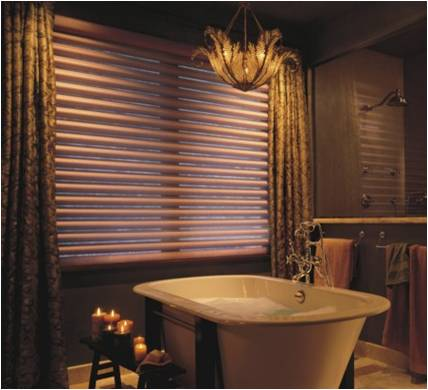 Pirouette® window shadings  from Hunter Douglas